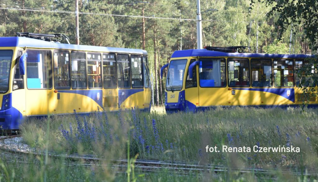 """Tramwaje - zdjęcie ilustrujące wpis """"Szybko, tramwaj nam ucieka, czyli po po ci to całe pisanie"""""""